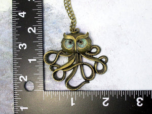 sea monster necklace