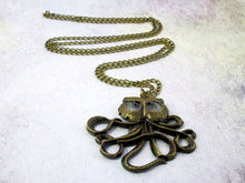 Load image into Gallery viewer, kraken necklace