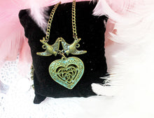 Load image into Gallery viewer, infinity love heart necklace