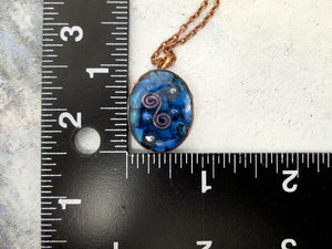 copper energy pendant