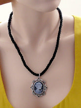 Load image into Gallery viewer, lady cameo necklace
