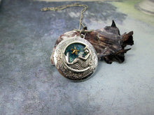 Load image into Gallery viewer, mermaid locket pendant