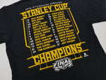Pittsburgh Penguins 2016 Stanley Cup Champions - T-Shirt (M)