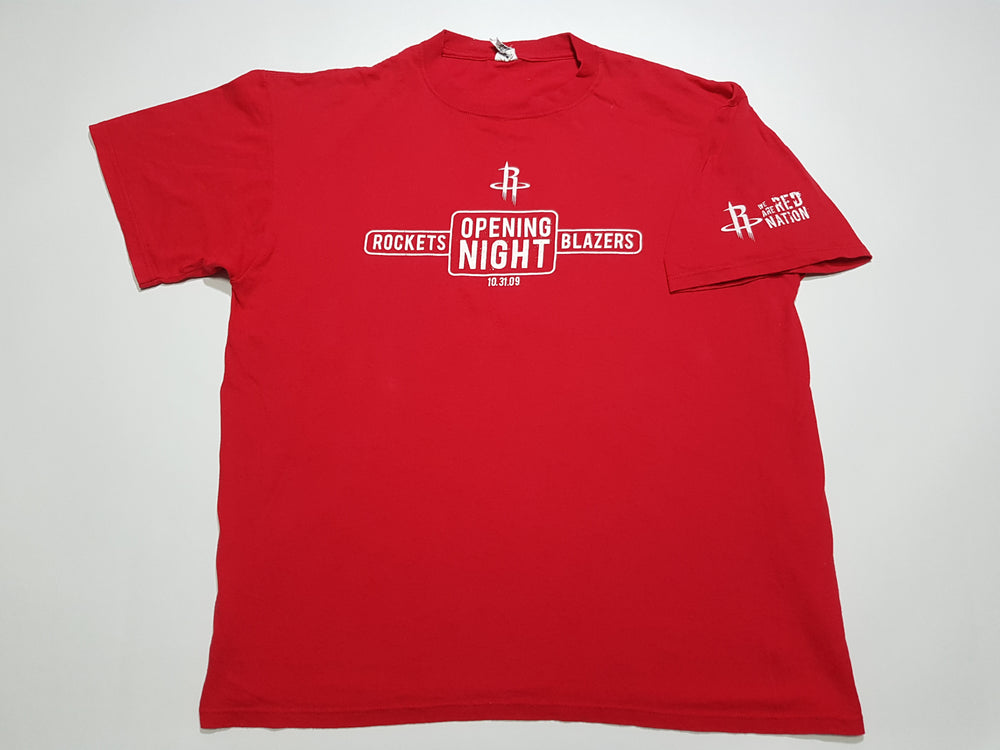 Houston Rockets - Opening Night 2009 T-Shirt (XL)