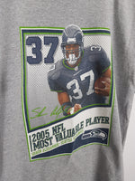 Seattle Sea Hawks - Shaun Alexander MVP T-Shirt (L)