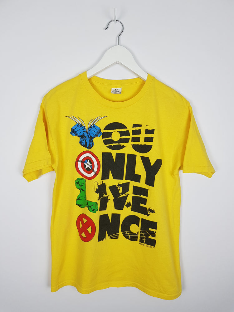 X-Men The Avengers YOLO T-Shirt (M)