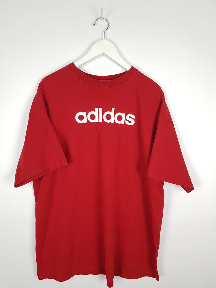 Adidas Embossed T-Shirt (XL)