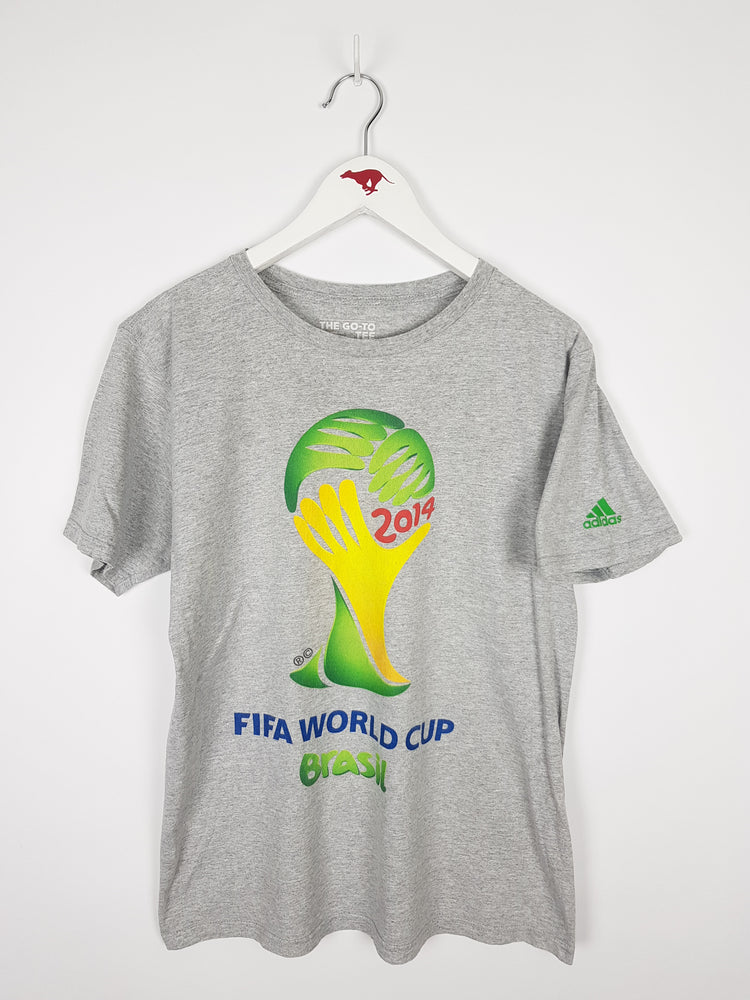 Adidas Brasil 2014 FIFA World Cup T-Shirt (M)