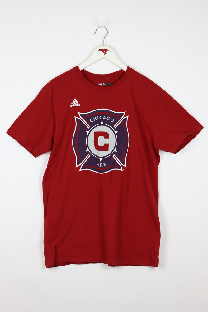 Adidas Chicago Fire Department T-Shirt (L)