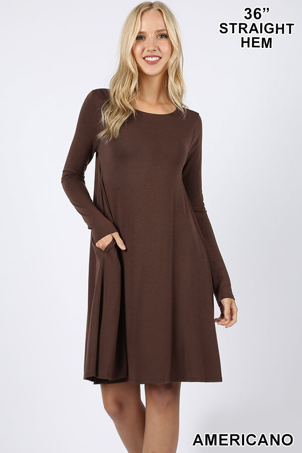 Long Sleeve Comfy Dresses