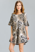 Load image into Gallery viewer, Geo Print Dress