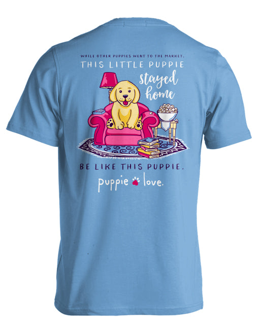 Stay At Home Puppie Love T-Shirt