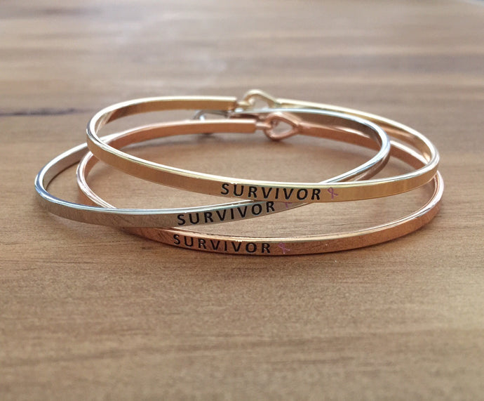 Survivor Breast Cancer Bracelet