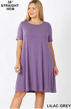 Load image into Gallery viewer, Plus Size Comfy Dress