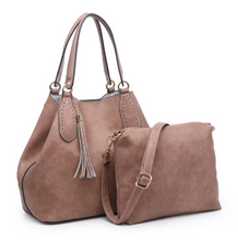 Load image into Gallery viewer, Monogram Hobo Handbag