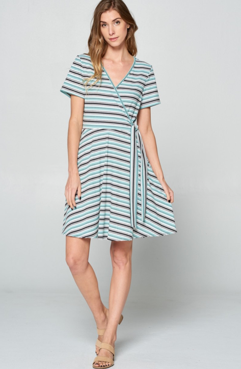 Side Tie Dress