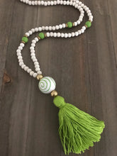 Load image into Gallery viewer, Ceramic Bead Tassel Necklaces