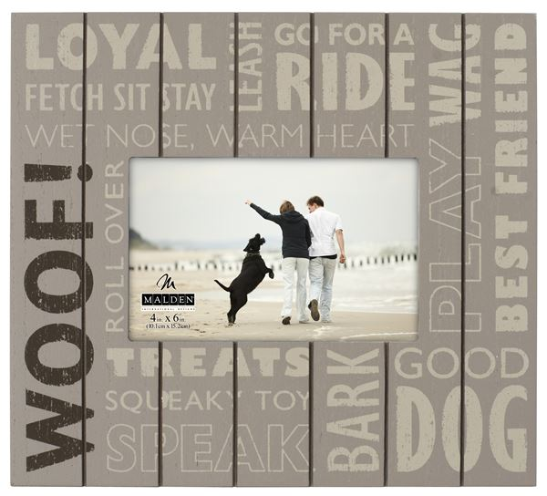 Woof Subway Picture Frame