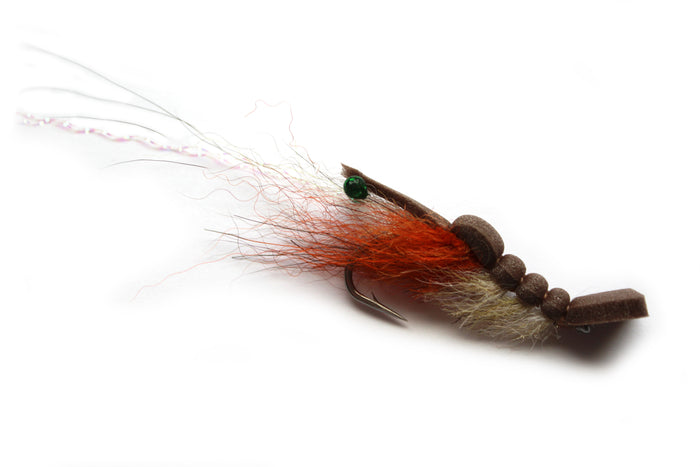 Backwater Flies - Poppin' Flats Shrimp (3)PK