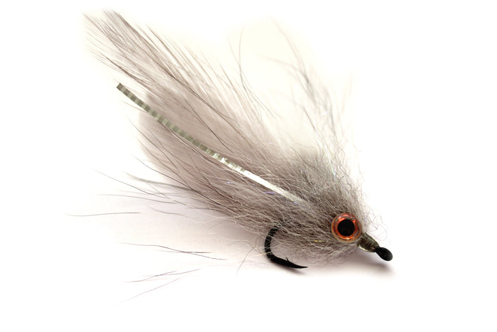Backwater Flies - White Lightning Baitfish (3)PK