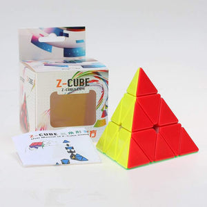 Z Cube Stickerless Pyraminx