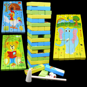 Stacking Blocks and Puzzles