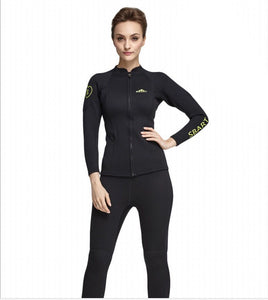 Women's 2mm Neoprene Wetsuit Jacket