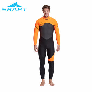 Men's 3mm Neoprene Full Wetsuit