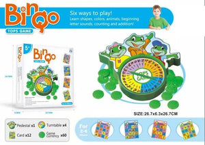 Clever Frogs Bingo Game