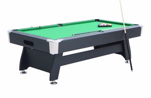 7' Pool Table with Table Tennis Top