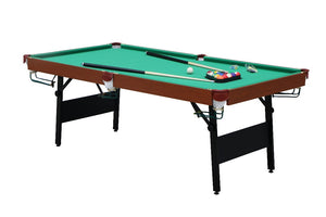 Fold away Pool Table 6'.