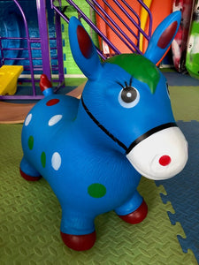 Animal Hopper Blue Horse