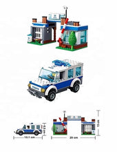 Building Block (Lego Compatible) Police Set