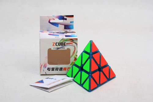Z Cube Pyraminx Luminous Blue