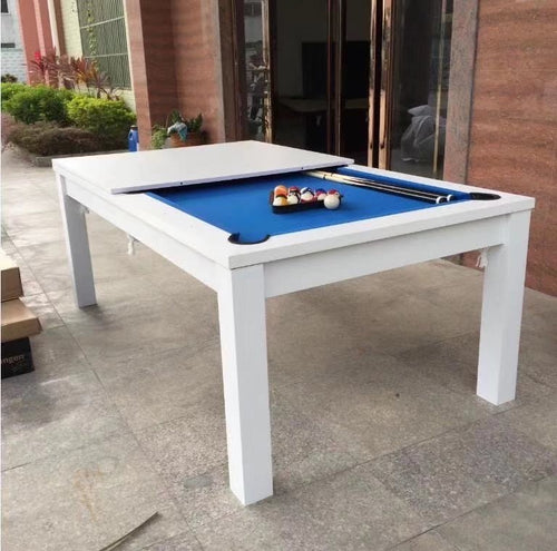 Dining Pool Table White