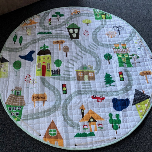 Drawstring Playmat