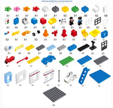 Police Building Block Set
