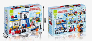 Duplo Compatible Police Building Block Set