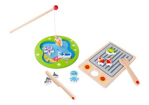 Fish n Girll Wooden Magnetic Fishing Activity