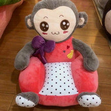 Kids Animal Cushion Seat Monkey Pink