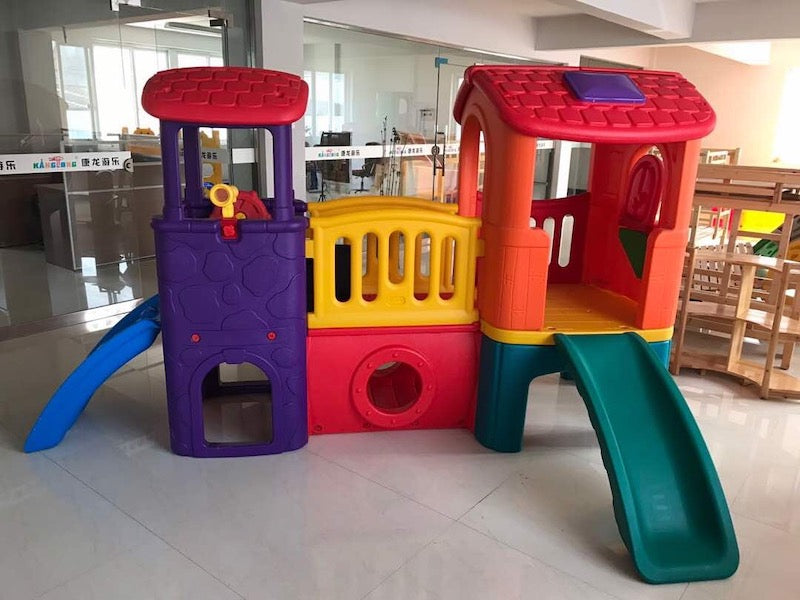 Large Playhouse and Slide
