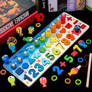 Learning Puzzle numbers and fishing