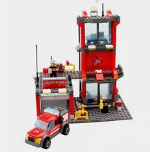 Lego Compatible Building Block Fire Station Set