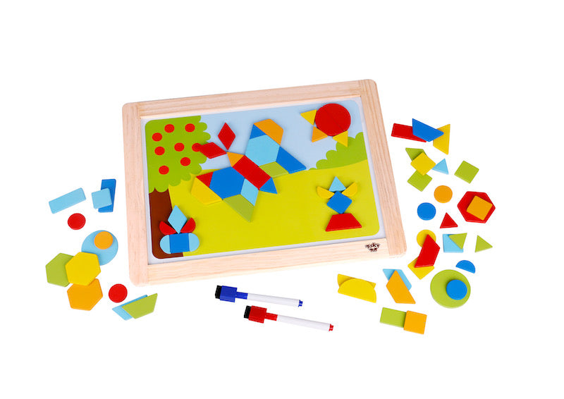 Magnetic Shapes Board