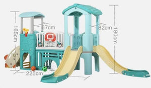 New Pastel Playground Double Slide