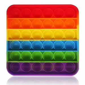Push pop (Popit) Rainbow Square
