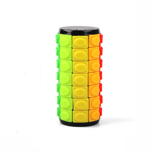 Rotate and Slide Cylinder Puzzle 7 Layer