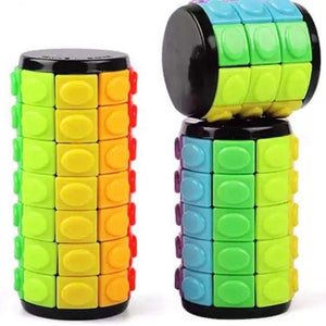 Rotate and Slide Cylinder Puzzle