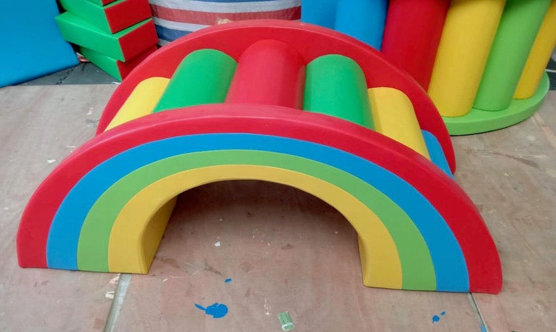 Soft Play Rainbow Arch