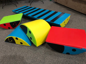 Soft Play Ladybugs and Caterpillar